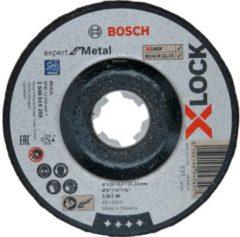 Bosch Accessoires X-LOCK Afbraamschijf Expert for Metal 125x6x22.23mm, gebogen - 10 stuk(s)