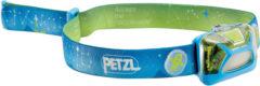 Petzl Tikkid Hoofdlamp voor kinderen met Glow-in-the-Dark Blauw