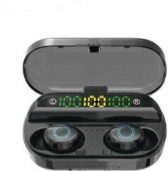 Xd  Xtreme 3 in 1 Draadloze Oordopjes - Met Oplaadcase en powerbank - Alternatief Airpods - Bluetooth Oortjes - Geschikt voor Apple iPhone en Android smartphones - zwart