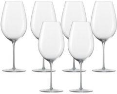 Bordeaux Premiers Cru Glas 6er-Set Enoteca Zwiesel 1872 Transparent