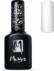Witte Moyra Foil Polish For Stamping 10 ml FP02 White