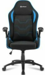 Blauwe Sharkoon Elbrus 1 Gaming Seat bk/bu
