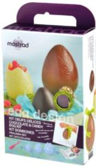 Mastrad - Giftbox - Zelf Paaseieren Maken - Inclusief Receptenboek en Bakkwast