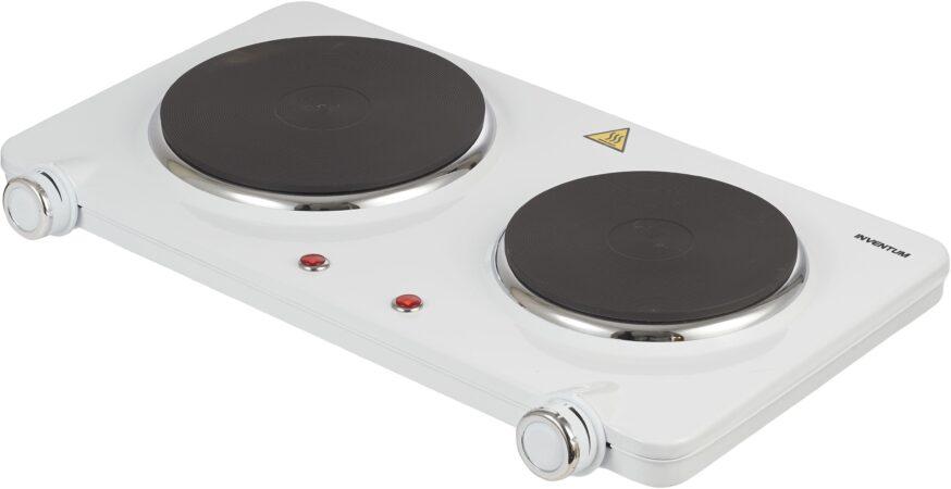 Afbeelding van Inventum KP602W kookplaat Wit Countertop Gesealde plaat 2 zone(s)