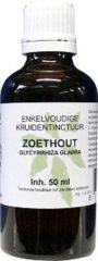 Natura Sanat Glycyrrhiza glabra radix / zoethout tinctuur bio 50 Milliliter