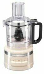 Creme witte KitchenAid Foodprocessor keukenmachine 1,7 liter 5KFP0719 - Amandelwit