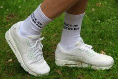 Witte Sk8erboy SNIFF ME Socks 39-42