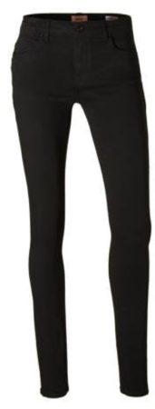 Afbeelding van Blauwe ONLY Onlcarmen Reg Skinny Jeans Dames Zwart