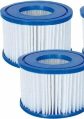 Witte Bestway Filter Cartridge Zwembadfilter Type VI voor Lay-Z-Spa