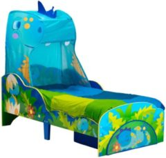 Blauwe Worlds Apart Bed Kind dinosaurus 142x77x138 cm