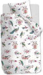 Roze Beddinghouse Kids Sweet Birds Dekbedovertrek - Katoen - Ledikant (100x135 Cm + 1 Sloop) - Pink