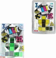 Clown Games Clown Magic Puzzle 3d 24 Dlg Geel + Puzzle 3d 24 Dlg Groen