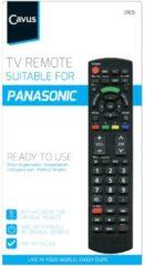 Cavus afstandsbediening TV afstandsbediening voor Panasonic zwart