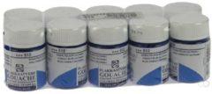Talens plakkaatvef Extra Fijn flacon van 16 ml, kobaltblauw (ultramarijn)