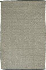 OSTA Hygge – Vloerkleed – Tapijt – geweven – wol – eco – duurzaam - modern - Scandinavisch - Beige Grijs Ruit - 70x140