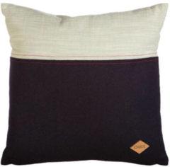 Donkerblauwe Oilily OLY Macaroon Cushion Bluegreen 045X045