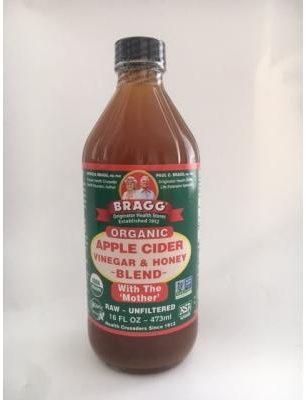 Afbeelding van Bragg Appelazijn honey blend 473 Milliliter