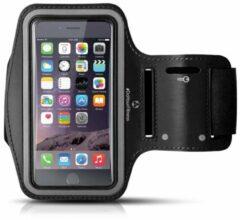 #DoYourFitness - Sportarmband - »RunnerMan« - Hardlooparmband voor telefoon - MEDIUM 60 cm - zwart