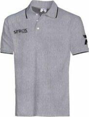 Patrick Sprox Polo Kinderen - Grijs Gemeleerd   Maat: 9/10