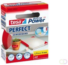 Tesa 56341-00031-02 Textieltape tesa Extra Power Rood (l x b) 2.75 m x 19 mm 1 rol/rollen