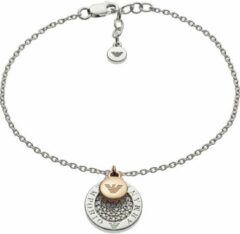 Emporio Armani Armani Damen-Armband 925er Silber 37 Zirkon One Size 87640264