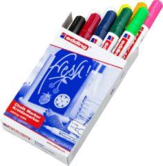 Edding 4095 krijtmarkers 2-3 mm. Set van 10 stuks assorti - krijtmarker - raamstift - raamstiften - chalkmarker – krijtstift – glasstift – schoolbordstift – krijtbordstift – stoepbordstift