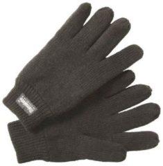 Antraciet-grijze Thinsulate Handschoenen Gebreid Heren Antraciet Maat 12