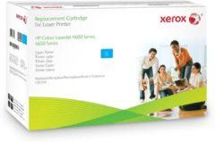 Blauwe Xerox Cyaan toner cartridge. Gelijk aan HP C9721A. Compatibel met HP Colour LaserJet 4600/4650