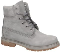 Timberland Women's 6 Inch Premium Leather Boots - Steeple Grey Waterbuck Monochromatic - UK 6 - Grey