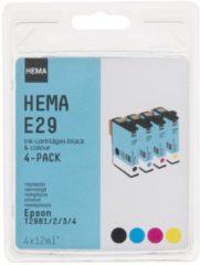 HEMA E29 Vervangt De Epson T2981/2/3/4