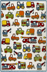 ESP-21977-110 Kinderzimmerteppich Vehicles, 80 x 150 cm, multi