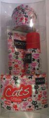 Vogue Girl Geschenkset - Cats Douchegel + Deospray + Bewaarblikje