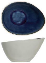 Blauwe Cosy&Trendy Cosy & Trendy Spirit Blue Kom Ovaal 15 X 11.5 Cm - Set-6