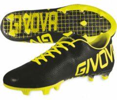 """Gele Voetbalschoen GIVOVA """"SCARPA METAL"""" maat 42."""