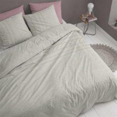Witte Cinderella Jumper - Flanel - Dekbedovertrek - Tweepersoons - 200x200/220 cm + 2 kussenslopen 60x70 cm - White