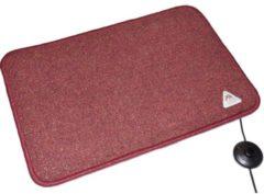 Arnold Rak Heat Master® 611259-B Warmtemat (l x b x h) 90 x 60 x 1.5 cm Bordeaux