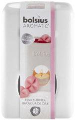 Witte Bolsius Aromatic Waxbrander Vierkant