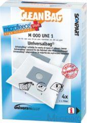 Witte CleanBag M000UNI1 universele stofzuigerzak voor vrijwel alle merken