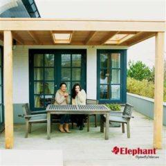 Elephant | Aanbouw veranda Xterior 300 | 300x300 cm