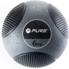 Pure2improve Medicine Ball 6 Kg Grijs/zwart