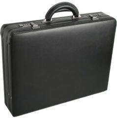 Tradition Aktenkoffer Leder 46 cm D&N schwarz