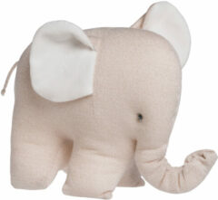 Witte Baby's Only Olifant Sparkle Knuffel Goud / Ivoor Mêlee