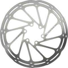 SRAM Centerline Rounded Remschijf eendelig, silver Diameter 160mm