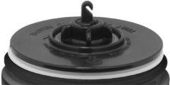 Thermos Isolierbecher Premium Edelstahl mattiert schwarz 0,47l