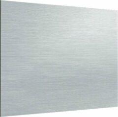 Zambala Uni Metallic Aluminium keuken spatwand voor fornuis 90x80 cm