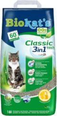 Biokat's Classic Fresh 3 In 1 - Kattenbakvulling - 18 l