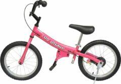 Glide Bikes Glide Bike 16inch Loopfiets Roze