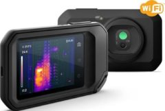 FLIR C5 (z Wi-Fi) Warmtebeeldcamera -20 tot +400 °C 8.7 Hz MSX, Geïntegreerde LED-lamp, Geïntegreerde digitale camera, WiFi