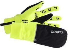 Craft Hybrid Weather Glove Fietshandschoenen - Unisex - Maat XXL - Flumino/Zwart