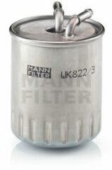 Mann-filter Brandstoffilter WK 822/3